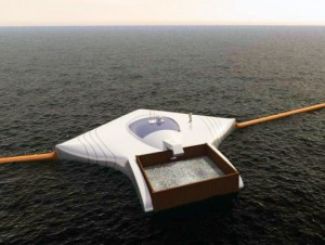 Dutch Ocean Clean Up Device